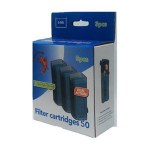 Aqua Flow 50 Replacement Easy Click Cartridge 3pack